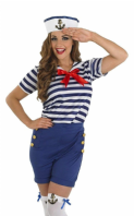 Sassy Sailor Girl Costume (3685)